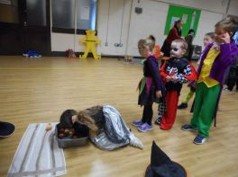 Senior Infants and 2nd Class Halloween Fun
