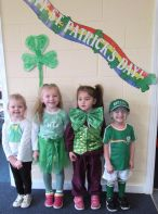 Early Start enjoyed the St. Patrick's Day celebrations.